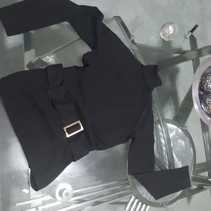International Concepts silk and nylon turtleneck